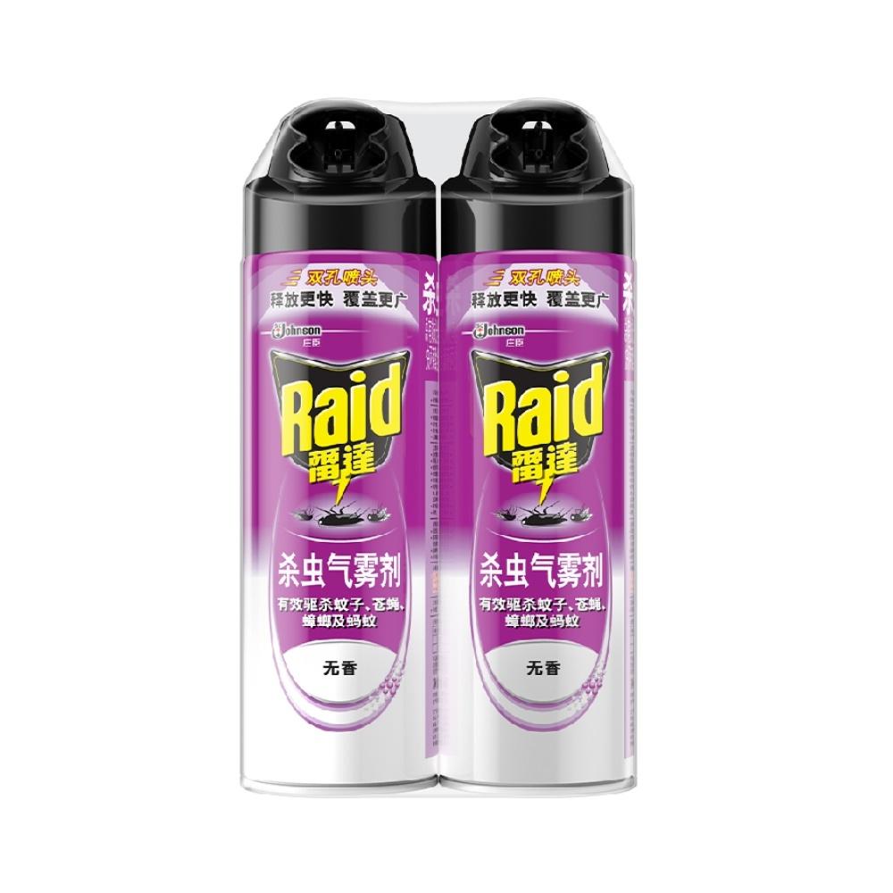 Raid 雷达蚊香 杀虫气雾剂无香 550ml*2