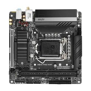 MSI 微星 H510I PRO WI-FI  MINI-ITX主板(intel LGA1200、H510)
