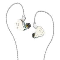 KUIBAO 魁宝 云雀 入耳式挂耳式圈铁有线耳机 水绿 3.5mm