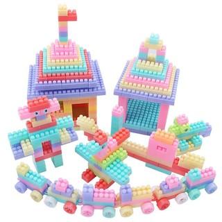 abay 大颗粒积木收纳盒装 儿童拼装积木玩具