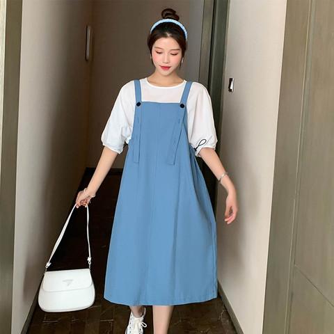 the little sugar milk baby 一米半糖 孕妇裙夏款宽松舒适孕妇长裙
