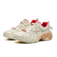 FILA 斐乐 8023 女子休闲运动鞋 F12W124166F-SW 微白 35.5