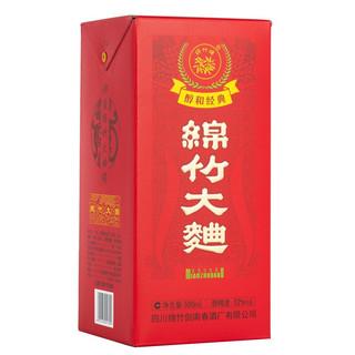 剑南春 绵竹大曲 醇和经典 红盒 52%vol 浓香型白酒 500ml*6瓶 整箱装