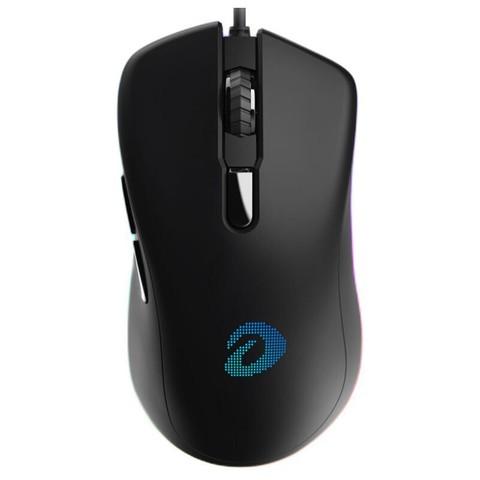 Dareu 达尔优 EM908 有线鼠标 6400DPI RGB 黑色