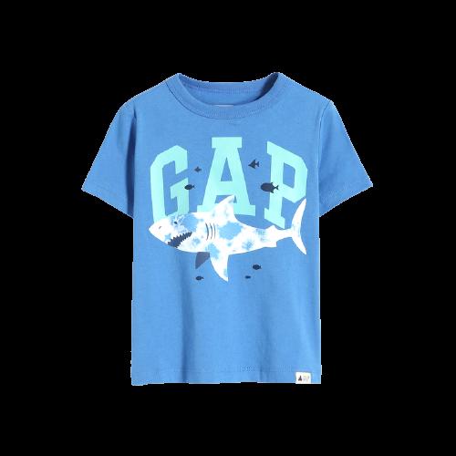 Gap 盖璞 布莱纳小熊系列 671201 儿童短袖T恤