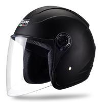 QISHI QS001 摩托车头盔 黑色