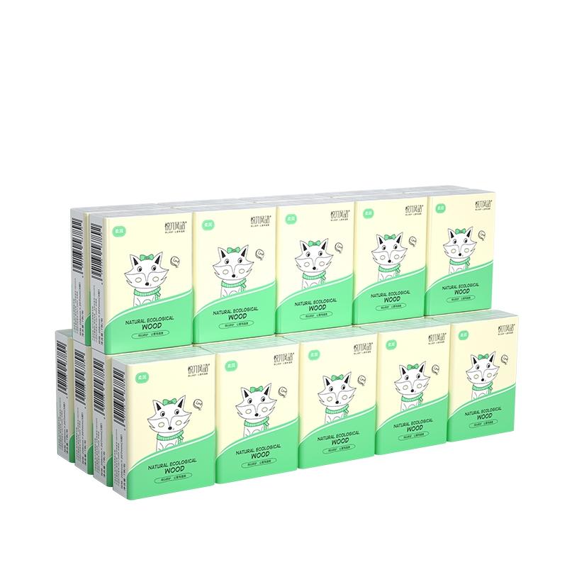 悦竹风语 3层加厚手帕纸 30包