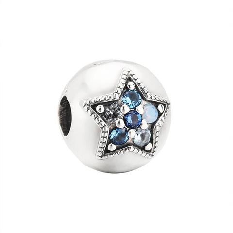 PANDORA 潘多拉 Pandora璀璨星辰925银固定夹 796380NSBMX