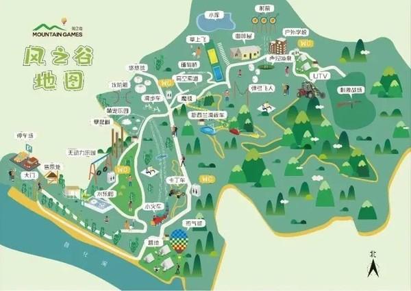 【杭州|临安风之谷户外乐园】超大自然生态森林乐园,十多项网红项目