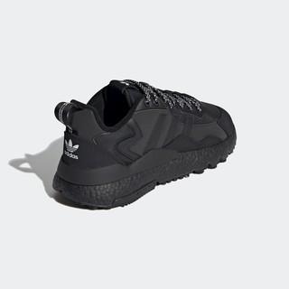 adidas Originals Nite Jogger Winterized 中性休闲运动鞋 FZ3661 黑色 45