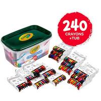 Prime会员:Crayola 绘儿乐 散装蜡笔套装 共240支