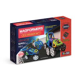 MAGFORMERS 麦格弗 Magformers磁力片磁力棒儿童拼搭系列金 707003 遥控游轮套组