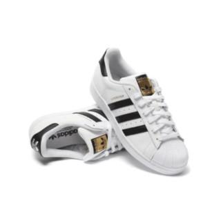 adidas Originals Superstar 男子休闲运动鞋 EG4958 黑白 46