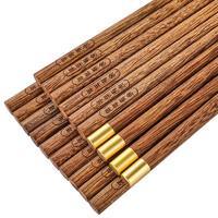唐宗筷 C3016 鸡翅木筷子 8双+2双公筷
