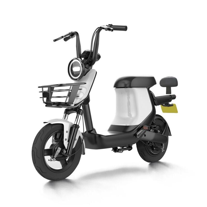 SUNRA 新日 XC1 领先版 电动自行车 TDTZD-429 48V20Ah锂电池 白色
