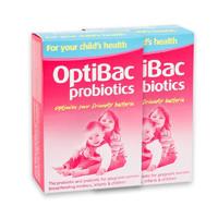 OptiBac 婴幼儿益生菌冲剂 原味 30袋*2盒
