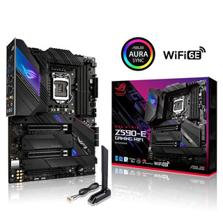 ROG 玩家国度 STRIX Z590 E GAMING WIFI ATX主板(Intel LGA 1200、Z590)