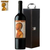 智利名庄红酒 十八罗汉原瓶原装进口干红葡萄酒750ml单瓶装 金色圣殿2014