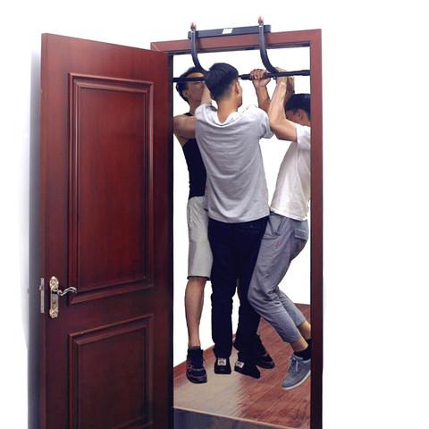 能耐 单杠引体向上器家用单杠室内免打孔多功能俯卧撑架健腹轮健身运动器材 NN4006-01