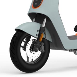 Luyuan 绿源 INNO7 电动摩托车 TDT2093Z 48V26Ah磷酸铁锂电池 浅灰绿/橙 智能版