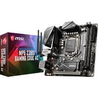 MSI 微星 MPG Z390I GAMING EDGE AC 刀锋板 MINI-ITX(Intel LGA 1151、Z390)