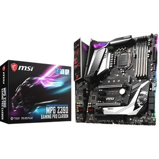 MSI 微星 MPG Z390 GAMING PRO CARBON 暗黑板 ATX主板(Intel LGA1151、Z390)