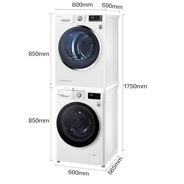 LG 乐金 FLX10N4W RC90U2AV2W  洗烘套装