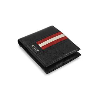 BALLY 巴利 天猫乐活日:【直营】Bally巴利男士牛皮钱夹正品钱包卡包短款男包礼物卡片包