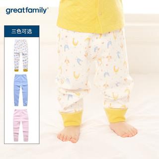 歌瑞家 男女童长裤宝宝开闭档裤2019秋婴幼儿裤子乐友 花色 59cm