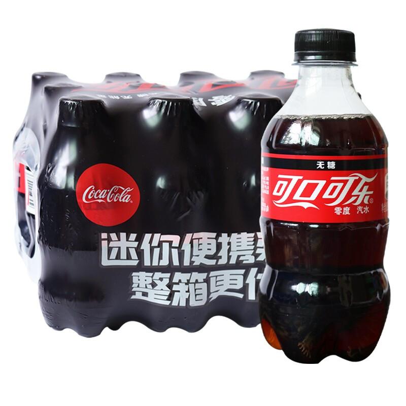 Coca-Cola 可口可乐 零度可乐 300ml*7瓶