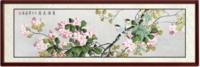 尚得堂 国画现代简约新中式工笔花鸟画客厅沙发背景墙挂画卧室床头装饰画