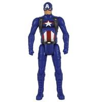 Hasbro 孩之宝 漫威3.75寸公仔人偶手办美国队长雷神钢铁侠浩克
