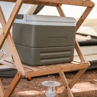 MOBI GARDEN 牧高笛 MOBIGARDEN)户外野餐便携冷藏箱车载冰箱大容量食品保冷保鲜箱手提保温箱8.5L NX20671031 橄榄绿