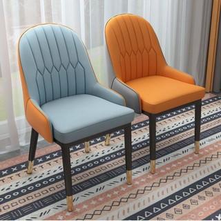 欧式轻奢餐椅靠背椅电脑椅餐桌椅书桌办公椅