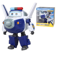 AULDEY 奥迪双钻 超级飞侠系列 710250 大变形机器人-包警长