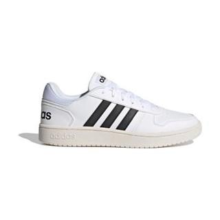 adidas NEO Hoops 2.0 男子休闲运动鞋 FY8629 白/黑 44