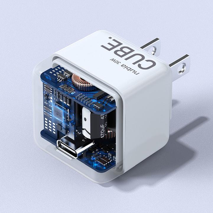 30W  Mini氮化镓充电器