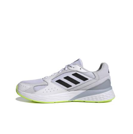 adidas 阿迪达斯 RESPONSE RUN 男子跑鞋 FY9581 白色/黑色/绿色 43