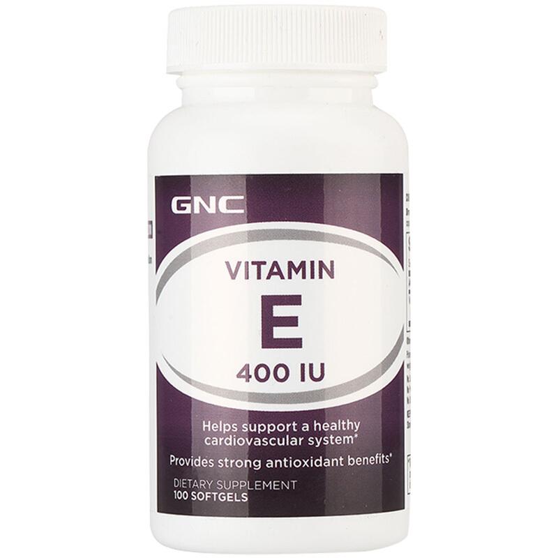 GNC 健安喜 维生素E软胶囊400IU 100粒/瓶