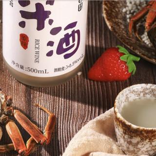 醉香田 浑浊米酒 原味 500ml