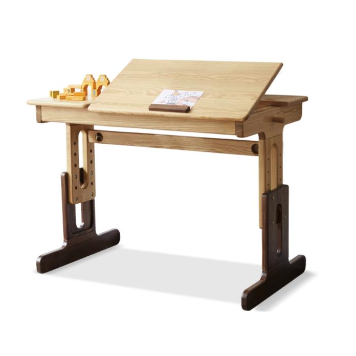 16日0点 : YESWOOD 源氏木语 Y16X01 纯实木可升降学习桌 0.82m