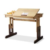 16日0点:YESWOOD 源氏木语 Y16X01 纯实木可升降学习桌 0.82m