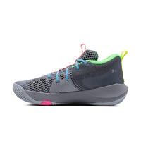 UNDER ARMOUR 安德玛 官方UA恩比德Embiid男女运动篮球鞋3024114 灰色106 40.5