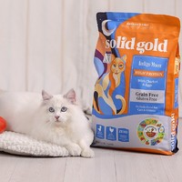 solid gold 素力高 无谷物配方全猫粮  12磅/5.44kg