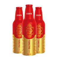 TSINGTAO 青岛啤酒 鸿运当头啤酒355ml*12瓶