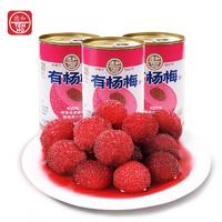 PLUS会员:TEH HO 德和 杨梅罐头即食水果罐头 400g