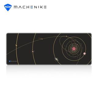 MACHENIKE 机械师 GP-K803-星系-顺滑版超长黑色空间电竞游戏鼠标垫800*300*3mm锁边加厚电脑桌垫