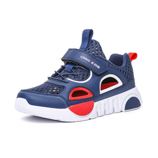 ERKE 鸿星尔克 男童运动凉鞋中大童潮流防滑包头儿童沙滩鞋男童凉鞋夏
