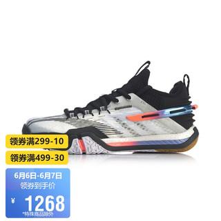 LI-NING 李宁 女鞋羽毛球鞋贴地飞行女子羽毛球专业比赛鞋AYAQ008