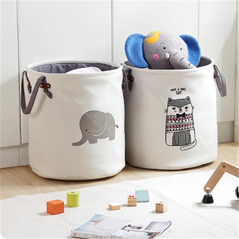 桫椤 布艺脏衣桶 儿童玩具收纳桶